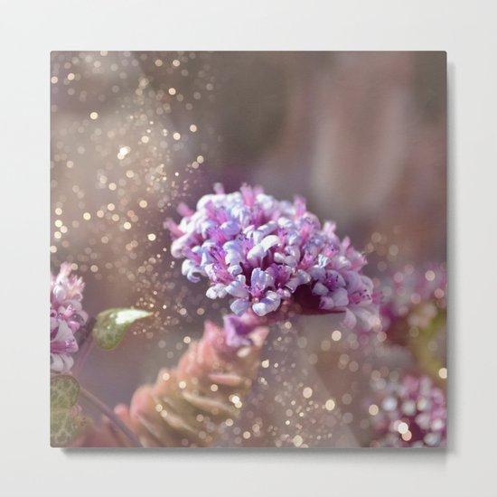 Pastel vibes floral IV Metal Print
