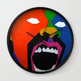 Man Wall Clock