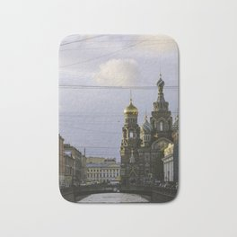 Saint Petersburg Russia Bath Mat