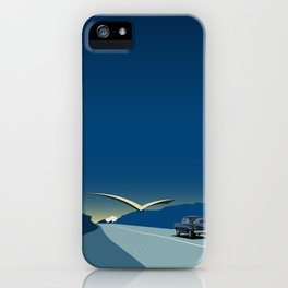 "Soviet Modernism: ""Seagull"" road mark at the northern entry of Yerevan iPhone Case"