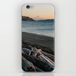 Mount Rainier Sunset iPhone Skin