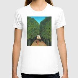 Henri Rousseau - Avenue in the Park at Saint Cloud T-shirt