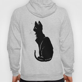 Life With Black Cats Vector Hoody