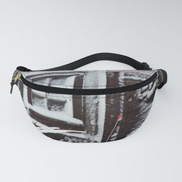 Snow Caked Barn Fanny Pack