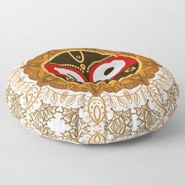 Jagannath. Indian God of the Universe. Lord Jagannatha. Floor Pillow