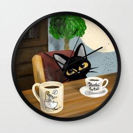 Cute Visitor Wall Clock
