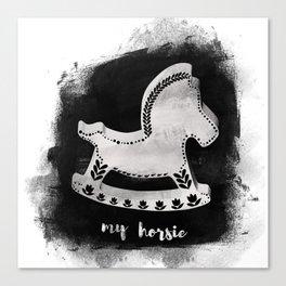 horsie /Agat/ Canvas Print