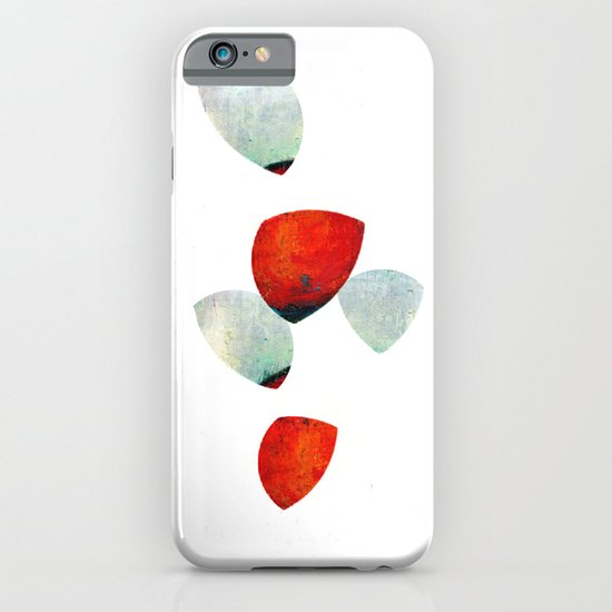 composition in red and grey iPhone & iPod Case