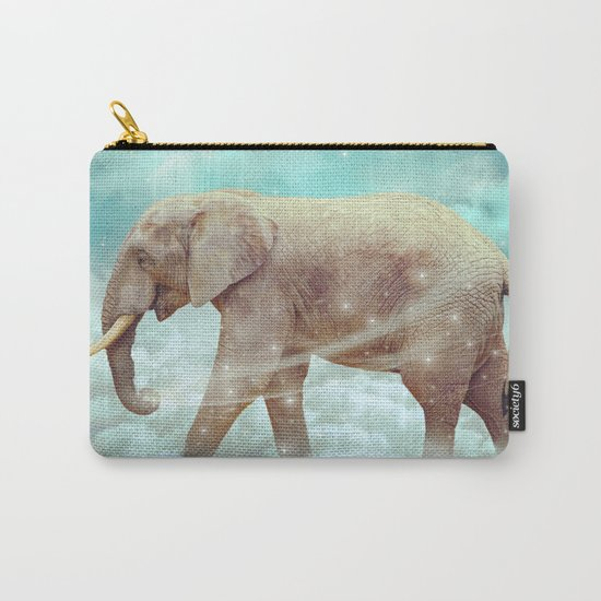 Walk With the Dreamers (Elephant in the Clouds) Carry-All Pouch