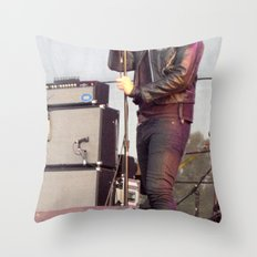 Julian C. - The Strokes Throw Pillow