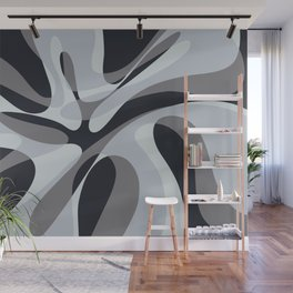 Inverted Wave Wall Mural