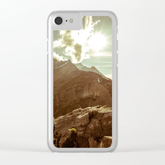 Step Outside Clear iPhone Case