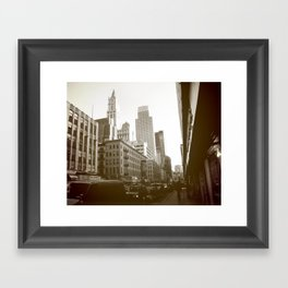 Church Street Framed Art Print