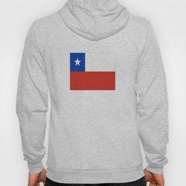 flag of Chile- -Spanish,Chile,chilean,chileno,chilena,Santiago,Valparaiso,Andes,Neruda. Hoody