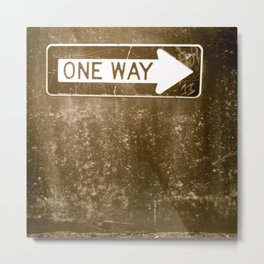 One Way or another~ Metal Print