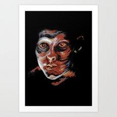 Don't Look Back Art Print