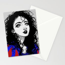 Dark Snow White Stationery Cards
