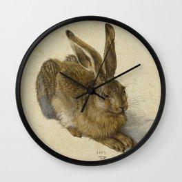 Albrecht Durer -  Hare (1502) Wall Clock