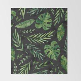 Tropical Summer 005 Throw Blanket