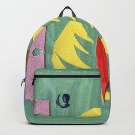 Yellow Leaf Backpack
