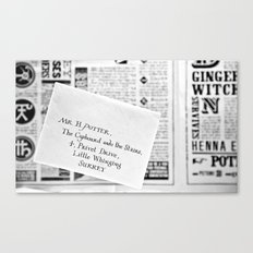 Mail for Harry Potter Canvas Print