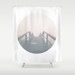 Begin Shower Curtain