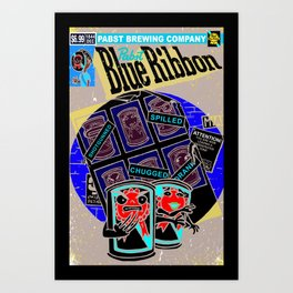Beers of Future Past Art Print