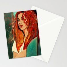 Downtown Train Stationery Cards