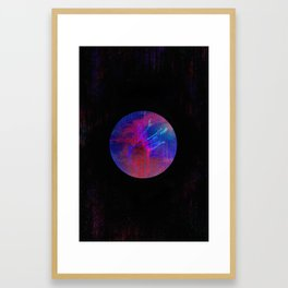 Orb Portrait Framed Art Print