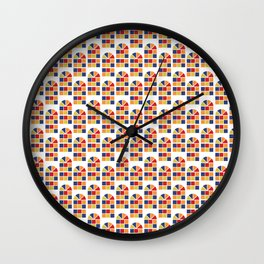 Pau de fita Wall Clock