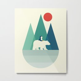 Bear You Metal Print