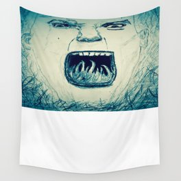 Rally Cry. Wall Tapestry