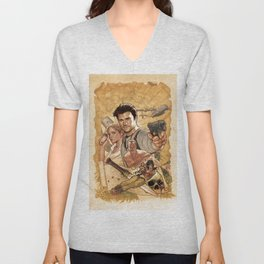 Uncharted Poster Unisex V-Neck