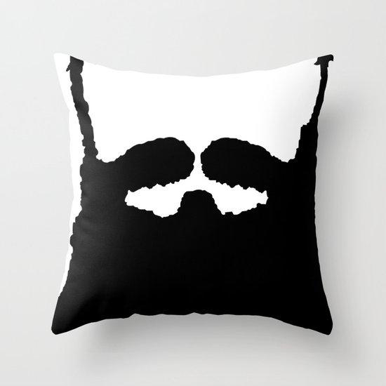 """Future """"Red"""" Throw Pillow"""