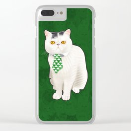 Dagoo (Green) Clear iPhone Case