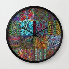 Bohemian Wonderland Wall Clock