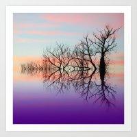 skyline Art Prints featuring Skyline by Shalisa Photography