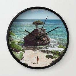 Bingin Beach Wall Clock