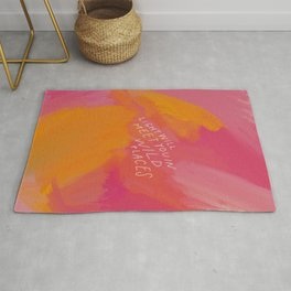 Light Will Meet You In Wild Places Rug