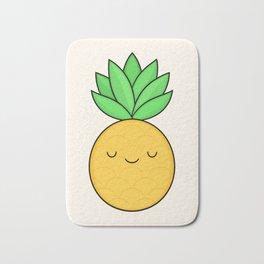 Happy Pineapple Bath Mat