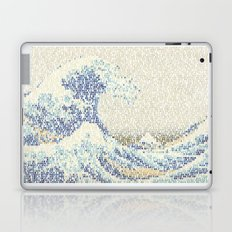 Riders On The Great Wave Laptop & iPad Skin