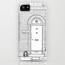 Newport Door No. 28 (ink) iPhone Case