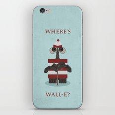 Where's Wall-e? iPhone & iPod Skin