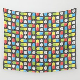 Pills and capsules Wall Tapestry
