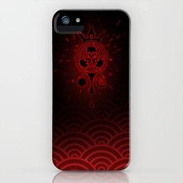 SamGen Logo - Black iPhone Case