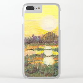 Sunlight Reflected Clear iPhone Case