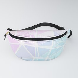 Pastel Triangles 1 Fanny Pack