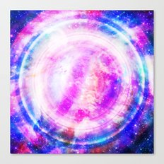 Galaxy Redux Canvas Print