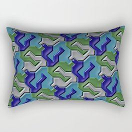 Geometrix 103 Rectangular Pillow