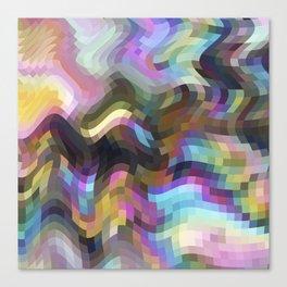 Crazy Quartz Canvas Print